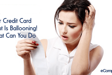 Your Credit Card Debt Is Ballooning! What Can You Do?