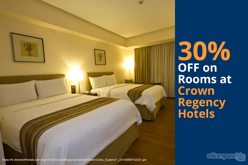 Crown-Regency-Hotels-and-Resorts-30-OFF-on-Rooms