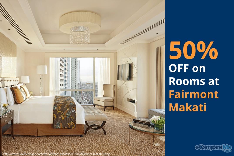 Fairmont Makati 50% OFF on Rooms