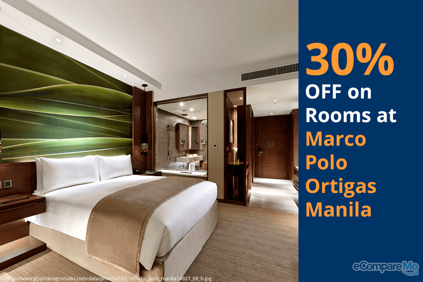 Marco Polo Ortigas Manila 30% OFF on Rooms