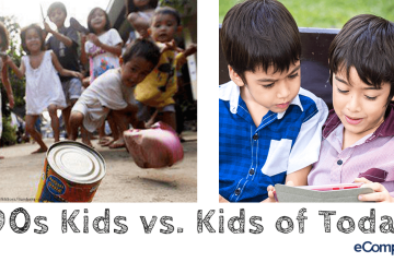 Childhood Then and Now: 90s Kids vs. Kids of Today