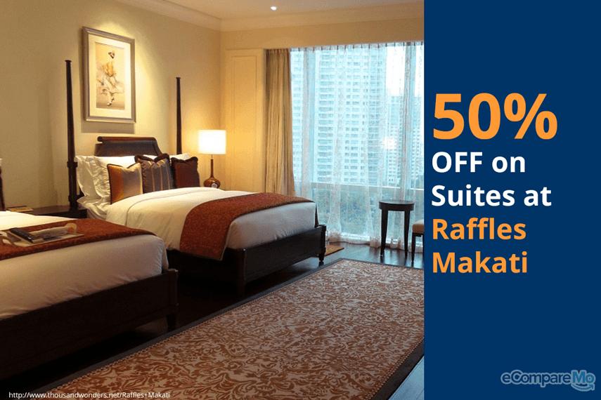 Raffles Makati 50% OFF on Suites