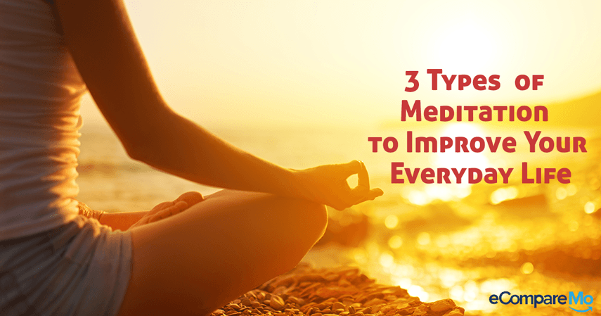 3 Simple Types of Meditation to Improve Your Everyday Life