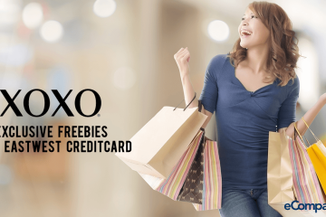 Exclusive Freebies from XOXO With EastWest Credit Cards