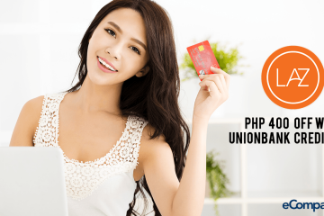 Php400 Off At Lazada With UnionBank Credit Card