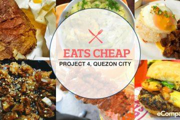 Top 5 Budget Restaurants In Project 4, Quezon City