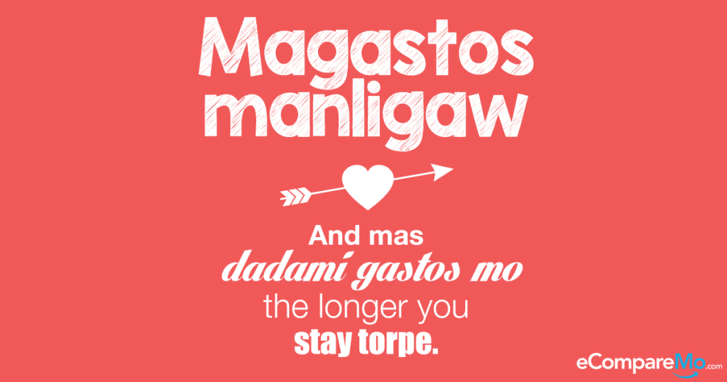 top hugot lines about love and finances from  ecmrealtalk