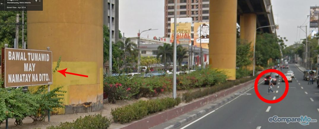 8 Common Pinoy Traffic Violations Caught On Google Street View