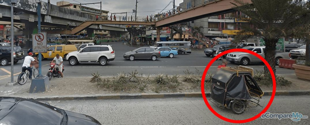 un-authorized-vehicle-EDSA-Taft
