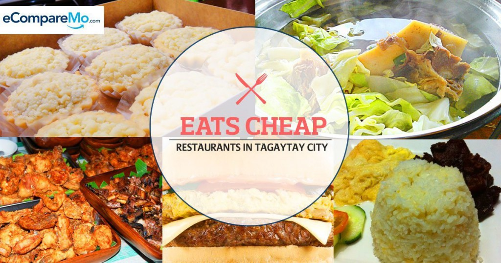 Eats Cheap 5 Restaurants In Tagaytay You Shouldn T Miss