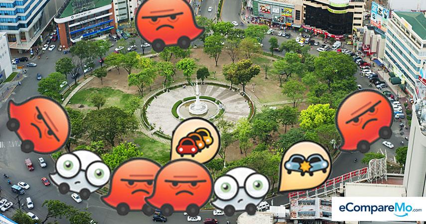 Traffic App Waze Names PH City