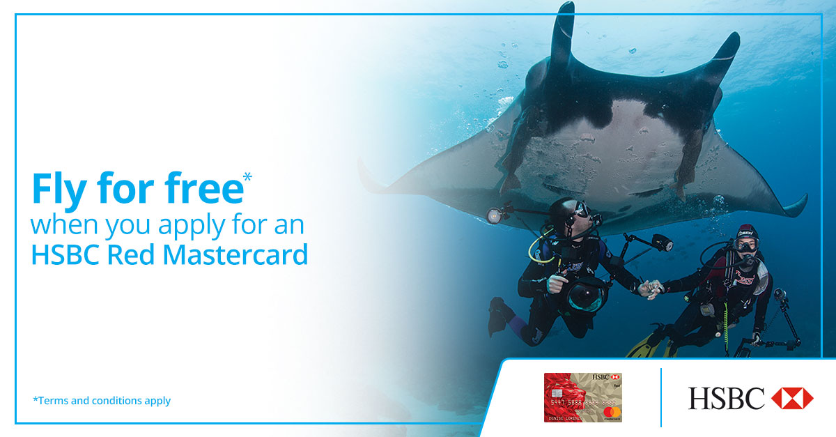 Apply For A New HSBC Red Mastercard And Fly To Select Local Destinations For Free