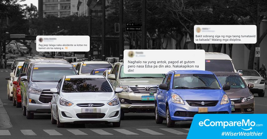 These Tweets Show How Painful Driving In Manila Can Be