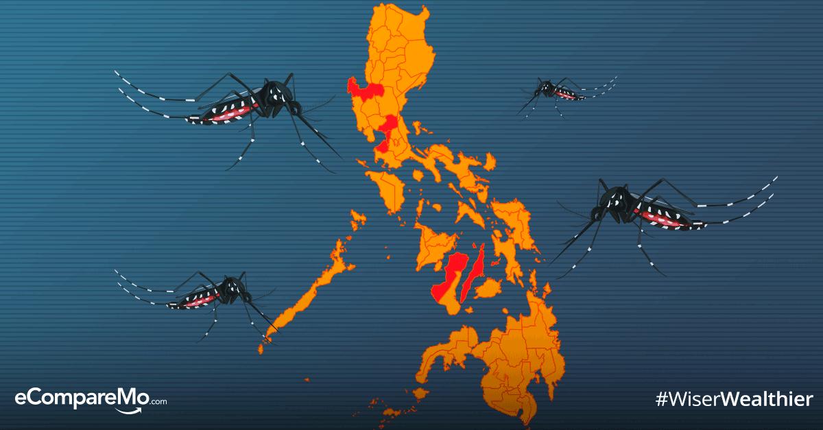Dengue Prone Areas in the Philippines - eCompareMo