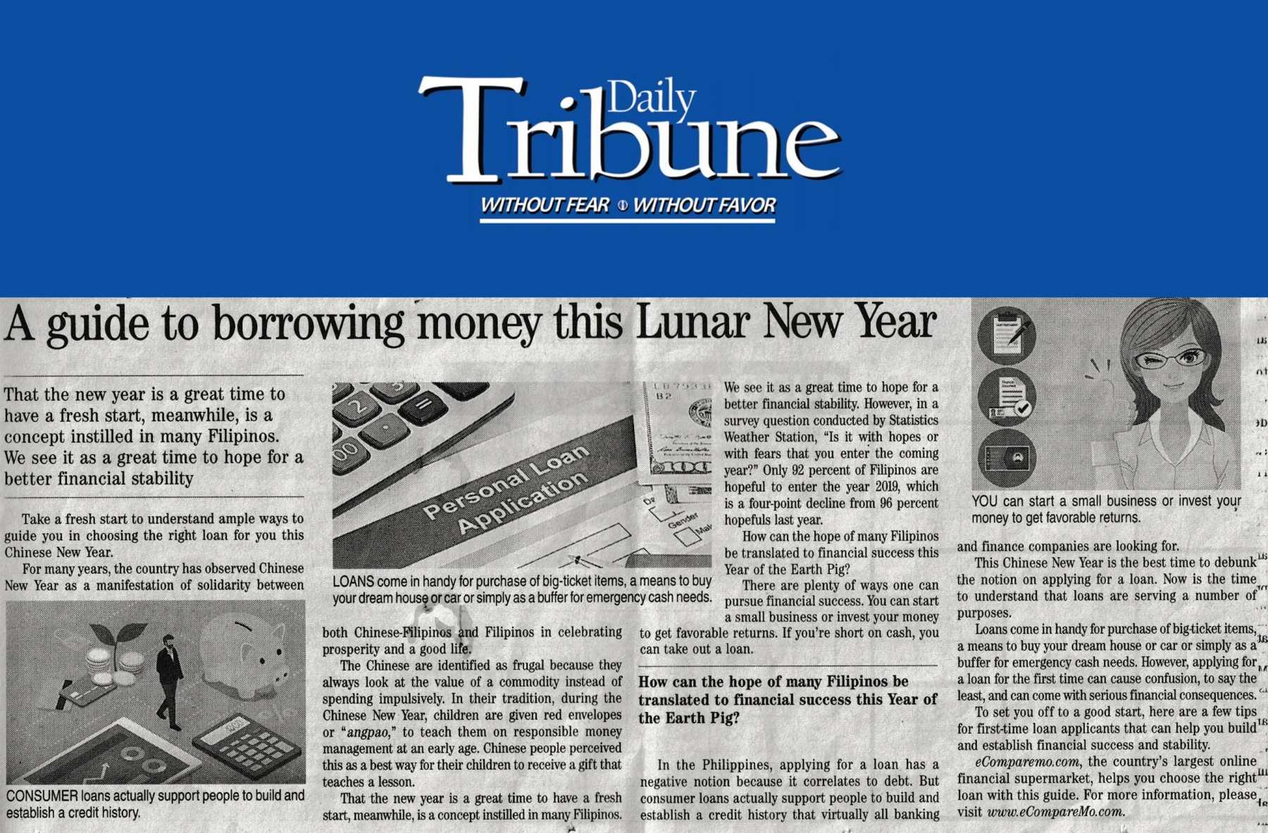 A guide to borrowing money this Lunar New Year