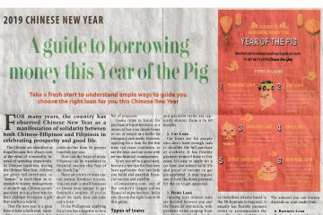 A guide to borrowing money this Year of the Pig