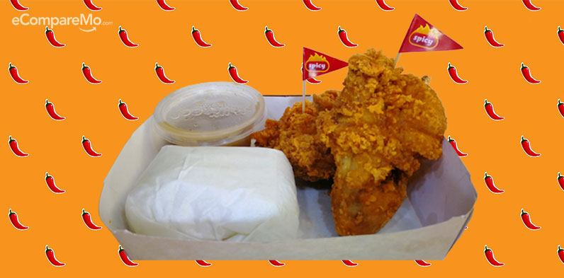 Fast Food Spicy Chicken