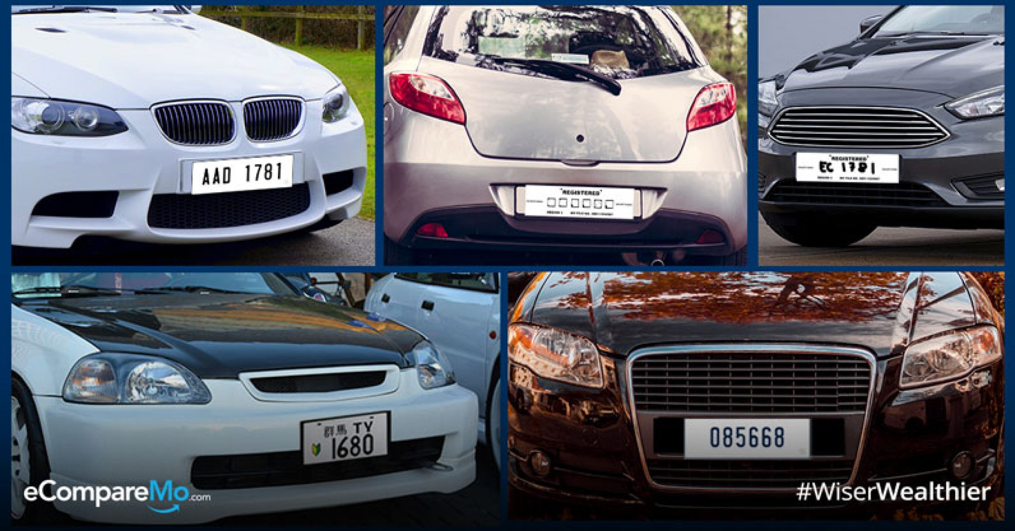 These 10 Types Of 'Temporary' License Plates Can Get You In Trouble