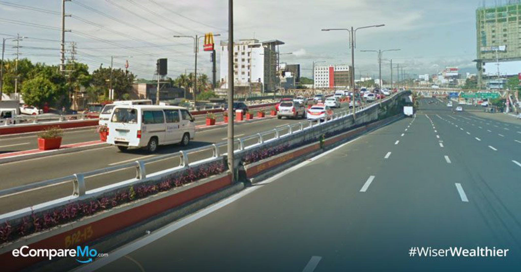 Tandang Sora Flyover Closed