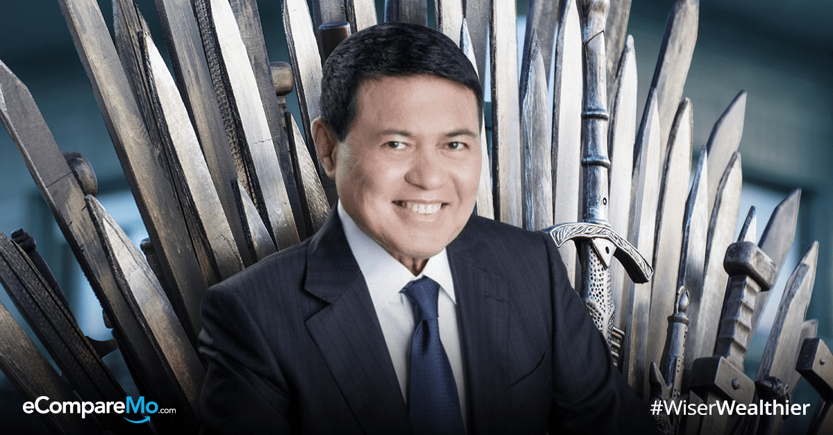 manny villar is now the richest man in the philippines