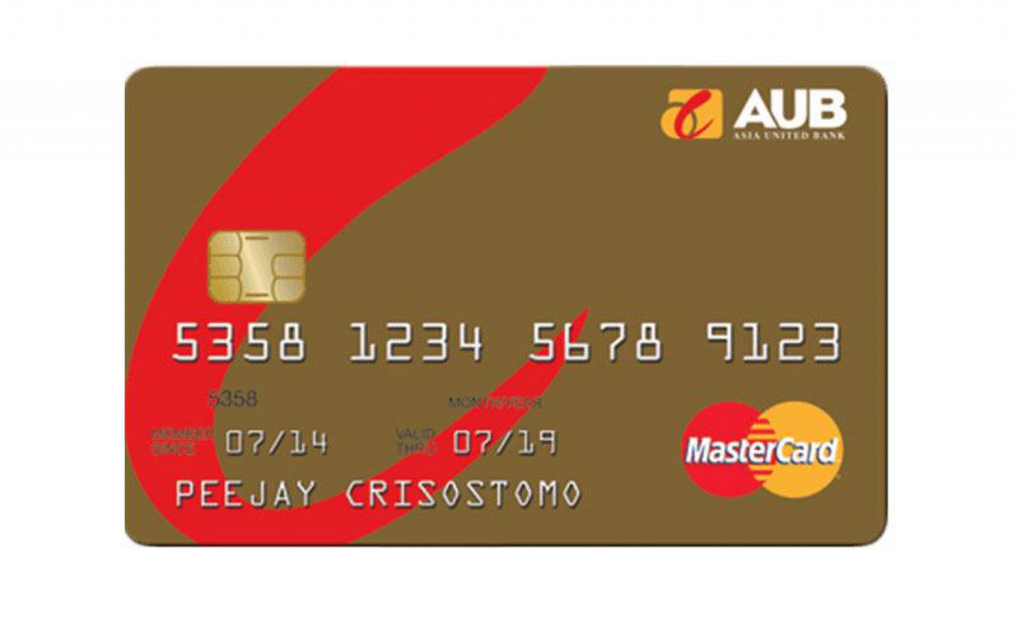 AUB Gold Mastercard