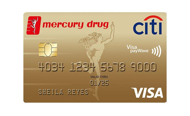 Citi Mercury Drug Visa