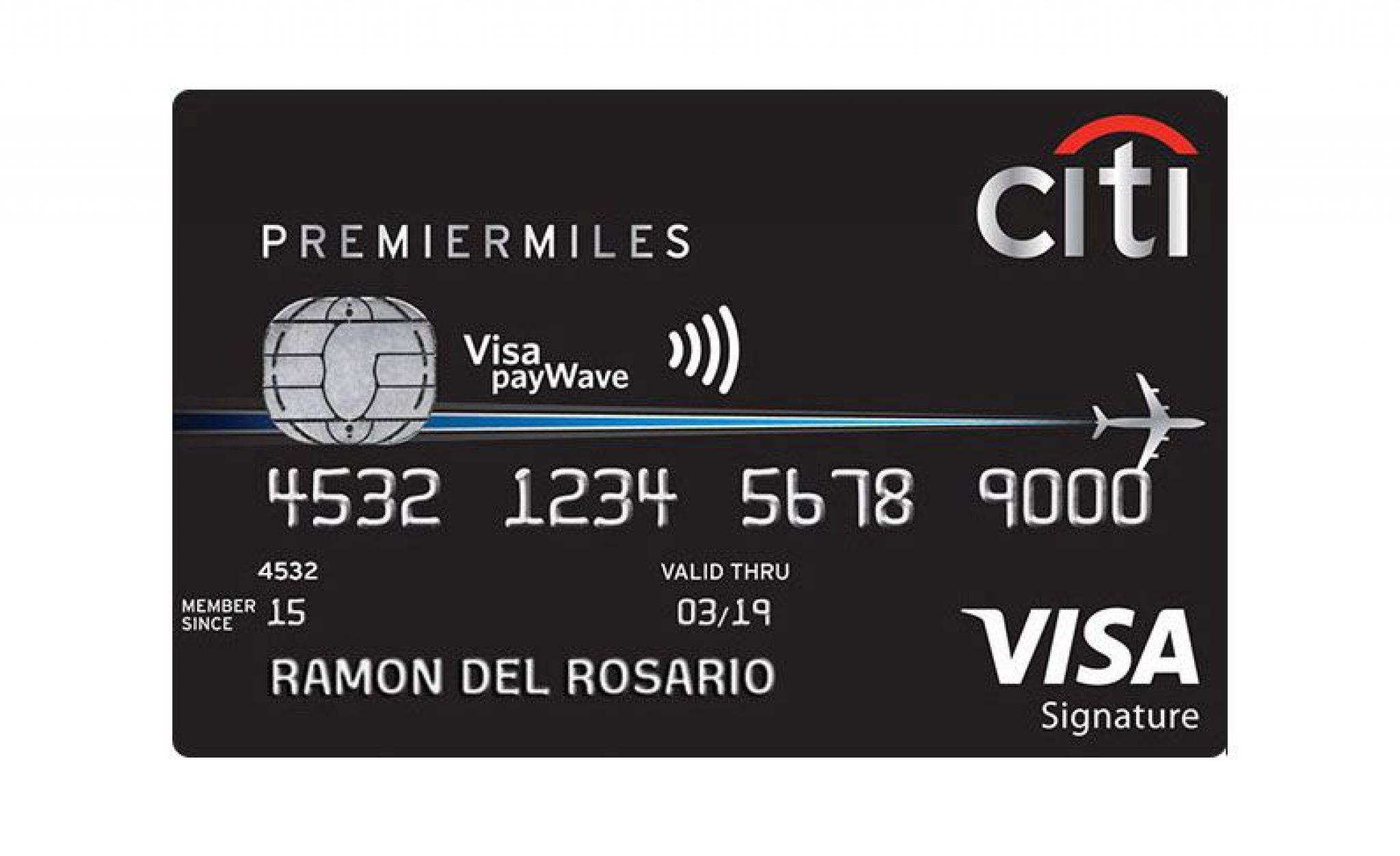 Citi Premir Miles Visa