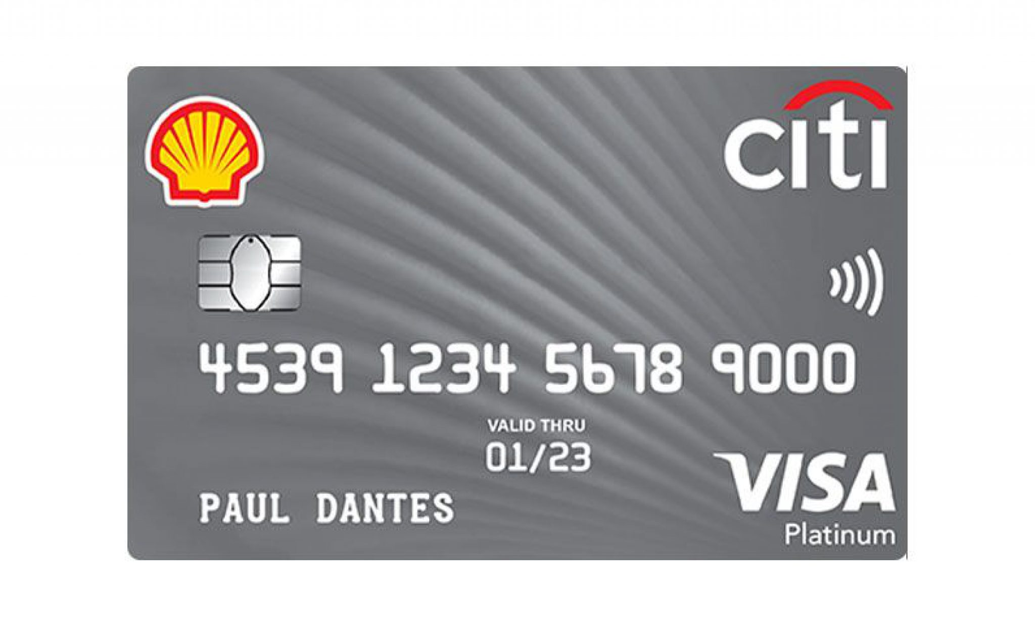 Citi Shell Platinum Visa