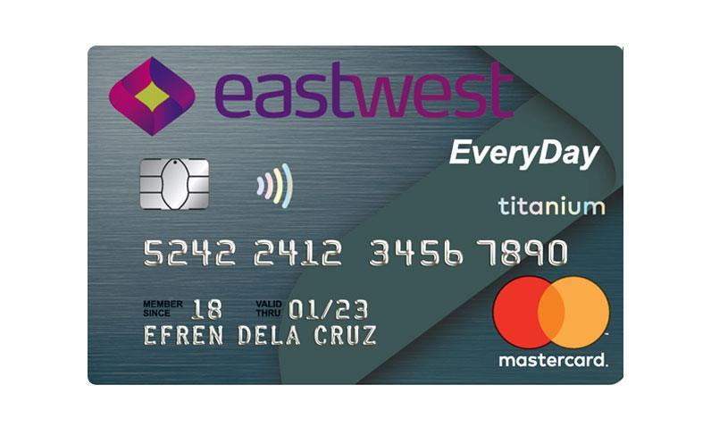 Eastwest Everyday Titanium Mastercard