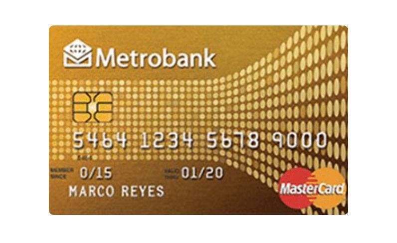 Metrobank Gold Mastercard