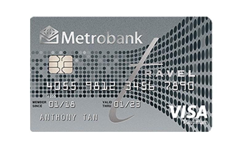 Metrobank Travel Platinum Visa