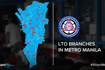 Updated 2019 List Of LTO Branches In Metro Manila