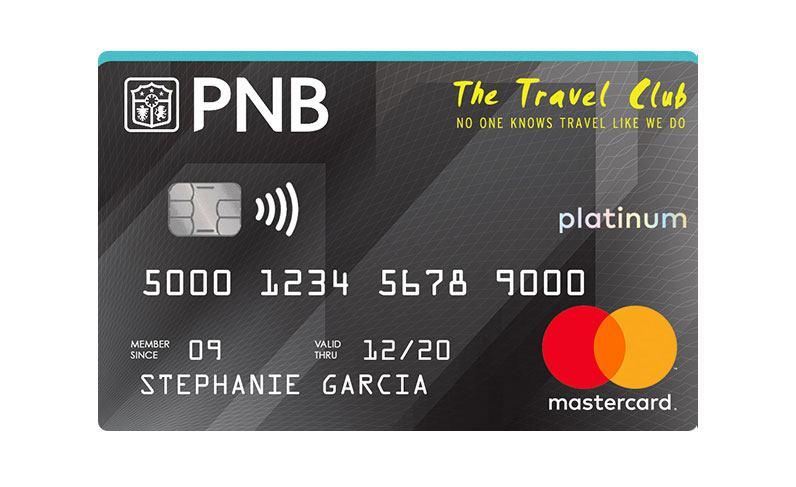 PNB Travel Club Platinum Mastercard