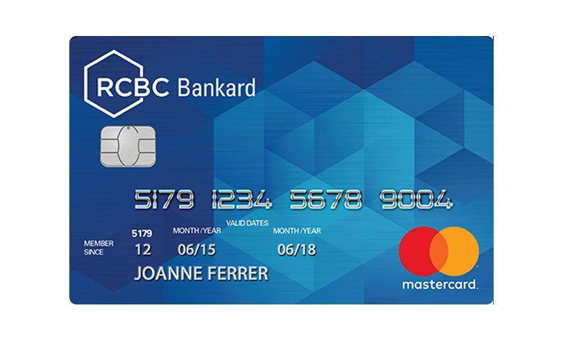 RCBC Bankard Classic Mastercard