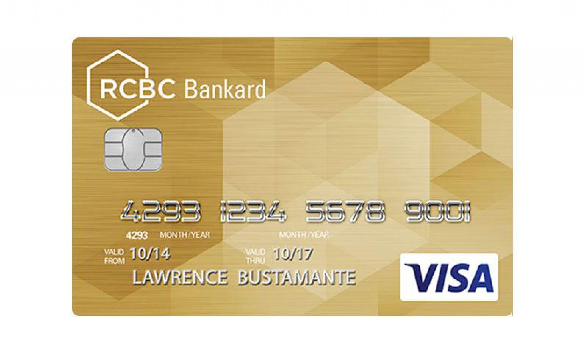 RCBC Bankard Gold Visa