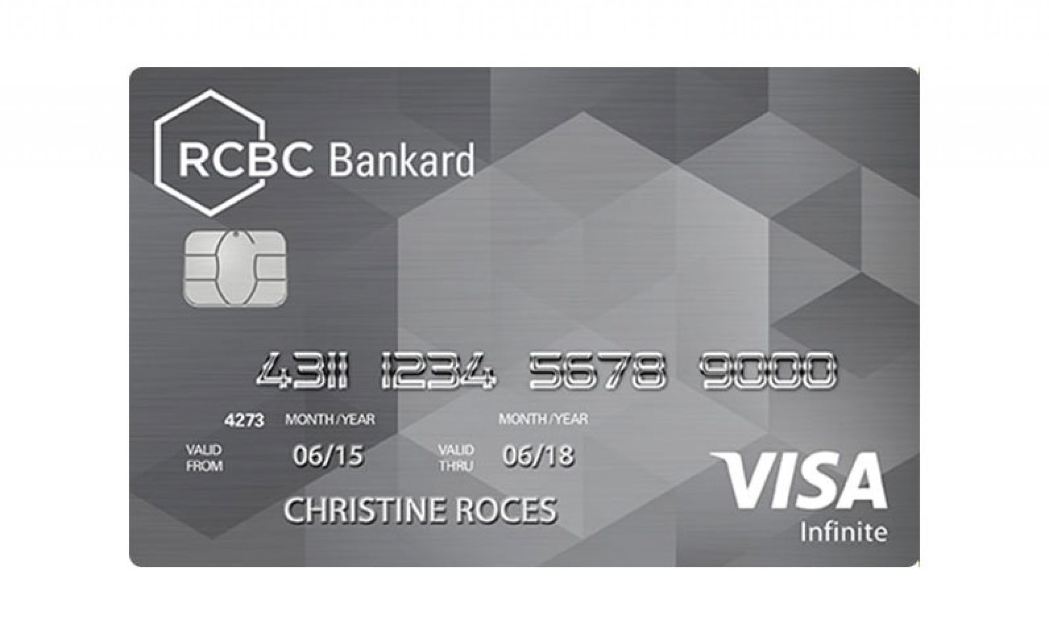 RCBC Bankard Infinite Visa