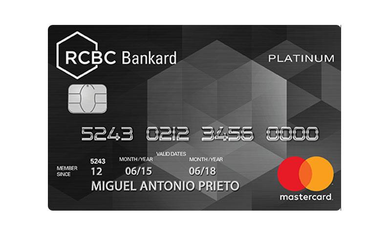 RCBC Bankard Platinum Mastercard