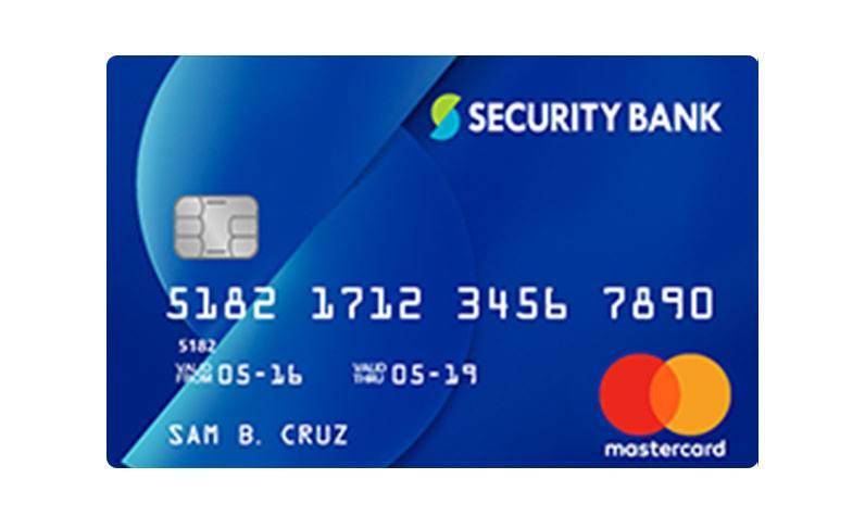 Secuirty Bank Classic Mastercard