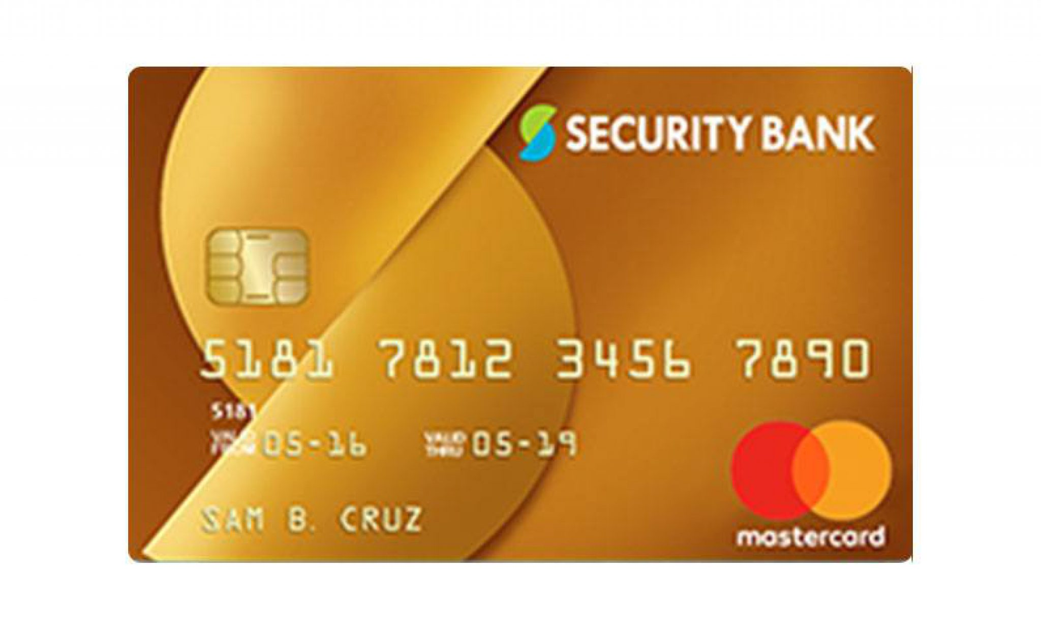 Security Bank Gold Mastercard