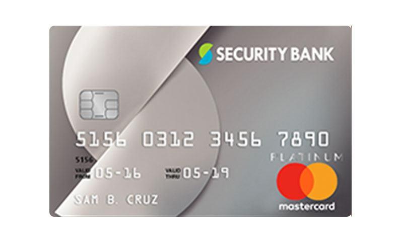 Security Bank Platinum Mastercard