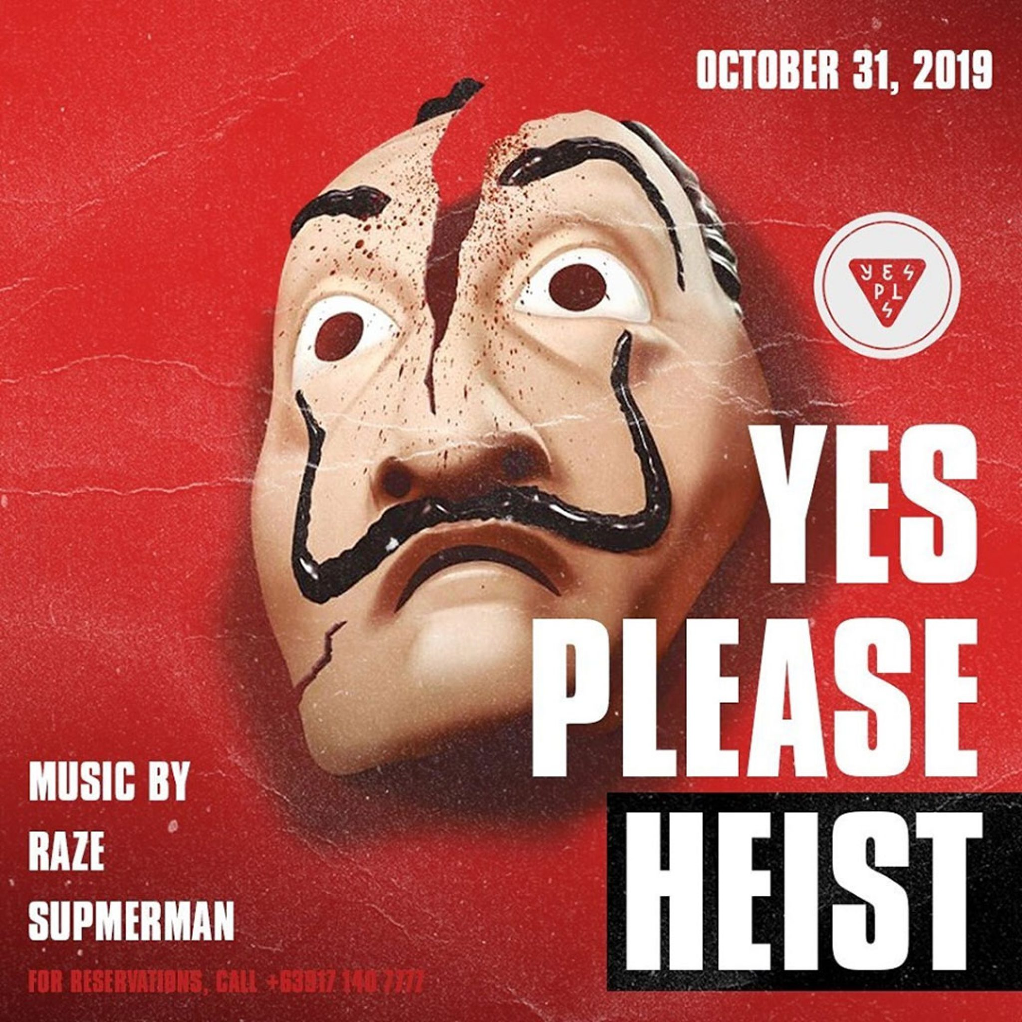 Yes Please Heist: A Halloween Bash