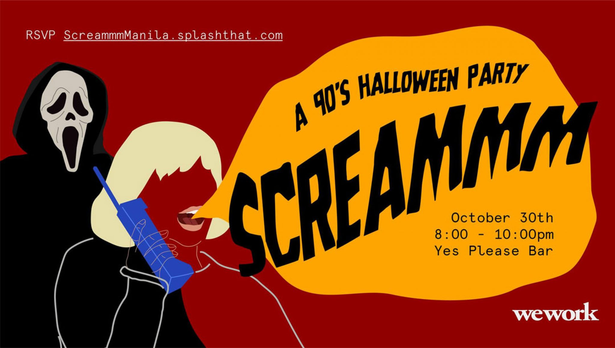 Scream: A 90's Halloween Party