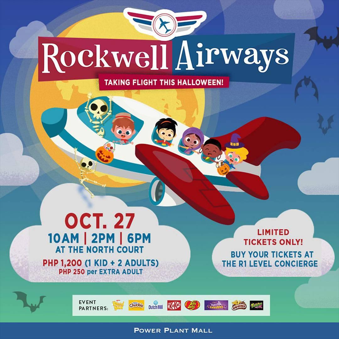 Rockwell Airways: Taking Flight This Halloween