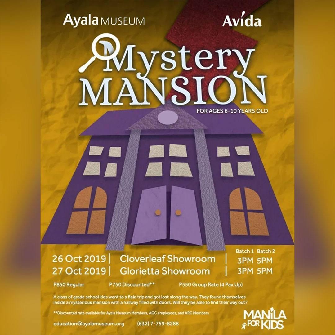 Ayala Museum: Mystery Mansion