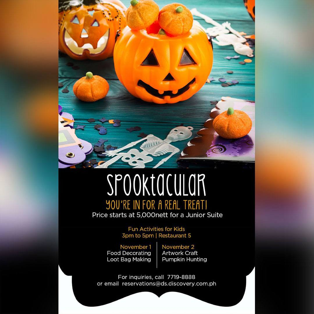 Discovery Suites Manila: Spooktacular at Discovery Suites