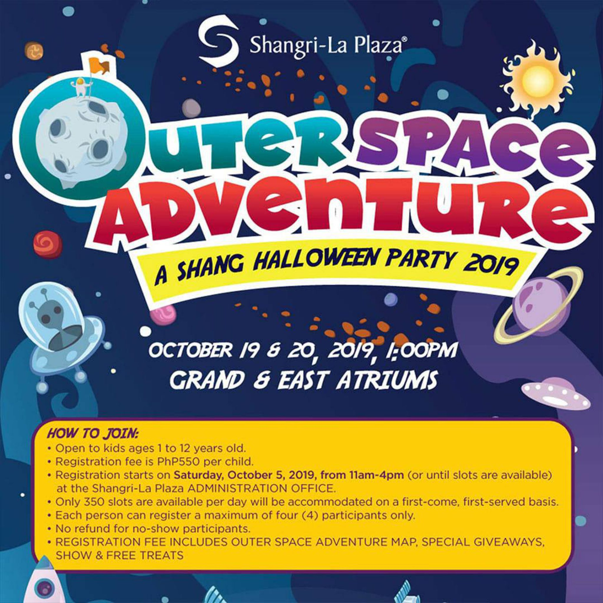 Shangri-La Plaza: Outer Space Adventure