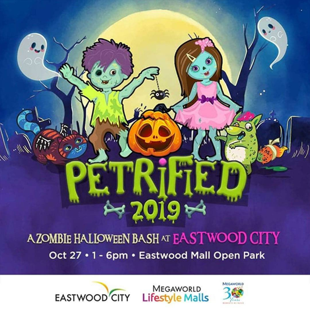 Eastwood Mall's Petrified 2019: A Zombie Halloween Bash at Eastwood City