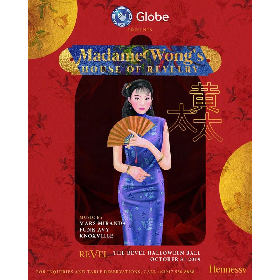 Madame Wongs's House of Revelry: The Revel Halloween Ball