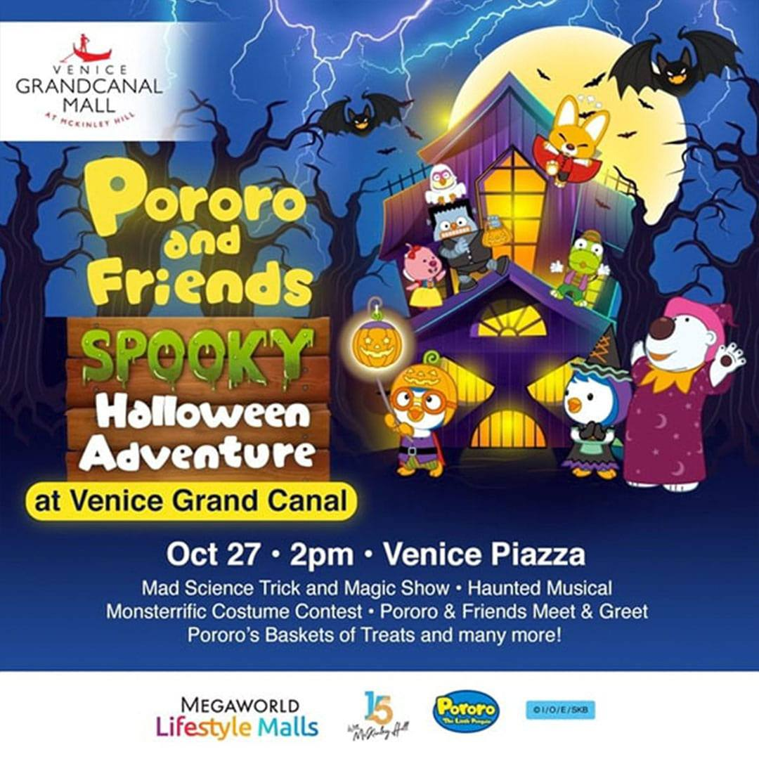 Venice Grand Canal's Spook Town: Pororo and Friends Spooky Halloween Adventure