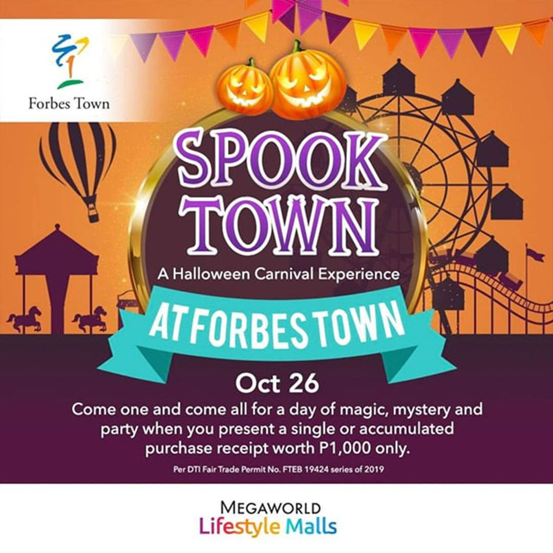Forbes Town's Spook Town: A Halloween Carnival Experience